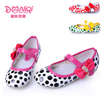 free shipping Demi, female children's shoes girl han edition princess shoes, leather shoes single shoes
