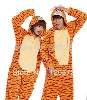 Adult Unisex Animal Lovely tigger Pajamas Onesie Sleepsuit Cosplay Sleepwear