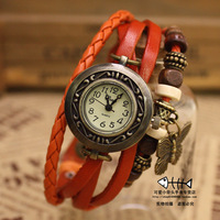 2013 national fashion trend butterfly bracelet watch fashion lady vintage student table watches for women