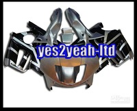 Customized fairing -Customize -Fairing Kit for Honda CBR600F3 97-98 CBR600 F3 1997 1998 CBR 600 CBR600 F3 97 98 ABS Blac