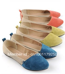 2013 spring/ autumn boat shoes the wedding pointed toe flat female flat heel women's shoes,high quality shoes(China (Mainland))