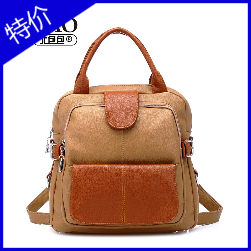 Free shipping 2013 brief preppy style women's kinetic energy backpack bags backpack travel bag(China (Mainland))
