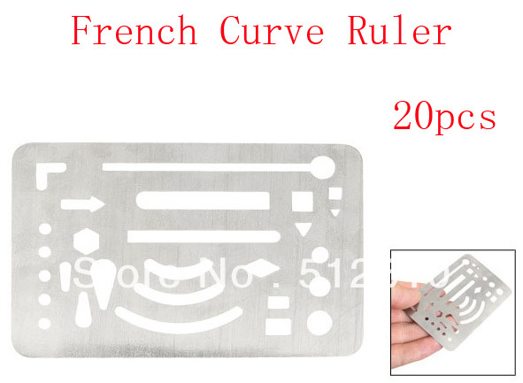 French Curve French Curve Ruler 20pcs