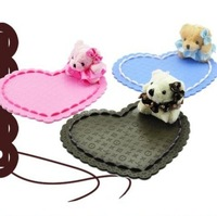 Free Shipping  Powerful Silica Gel Magic Sticky Pad Anti Slip Mat For Phone PDA Car Accessories Multicolor,Bear Style