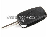 Flip Folding Remote Key Shell Case For FIAT Ducato Motorhome 3 Buttons  FT0037
