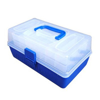 FREE SHIPPING Lure set double layer portable lure box accessories box