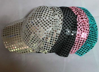 free shipping Adult beyond outrageous show cap bead sequins anise hat made wholesale crszm320 bulk Baseball cap wholesale