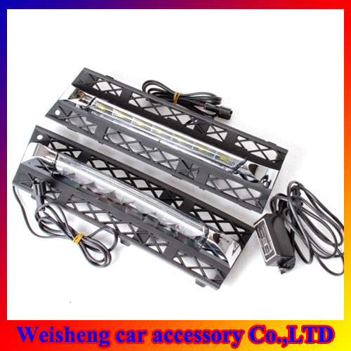 High Power Car LED Daytime Running Light For BMW F01/F02 White light day running Waterproof DRL lights(China (Mainland))