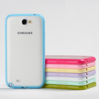 For samsung n7100 mobile phone shell silica gel shell for note2 protective case phone cover