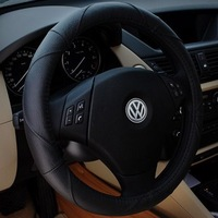 Vw santana jettas 2000 volkswagen 3000 poson top a genuine leather steering wheel cover