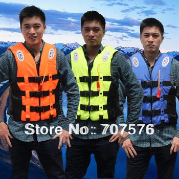Outdoor adult child life vest clothing life saving vest antidepilation vest flotage clothing
