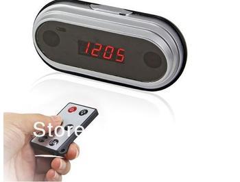 4GB Digital Mini HD DV 1080P Clock Hidden Camera 5MP  Fashion Alarm Clock  Video Recorder with Motion Detection