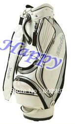 1 pc Brand New TM high quality white golf bag with raincover Freeshipping(China (Mainland))