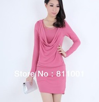 ship within 24 hour 2013 New Summer Women's Fashion  hot, women  dress, summer, long sleeve, slim, free shipping,