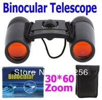 Promotions ! 30X60 Zoom Mini Binoculars Telescope Folding Day 126m/1000m