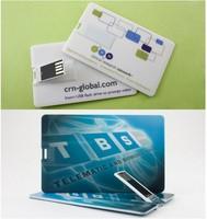 Card Flip Custom USB Flash Drive 1GB 2GB 4GB 8GB 16GB 32GB 64GB Wholesale