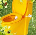 FREE SHIPPING high quality white no electric cheap toilet bidet HS-B8100(China (Mainland))