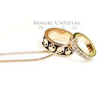 Italina personality skull short design necklace female gift