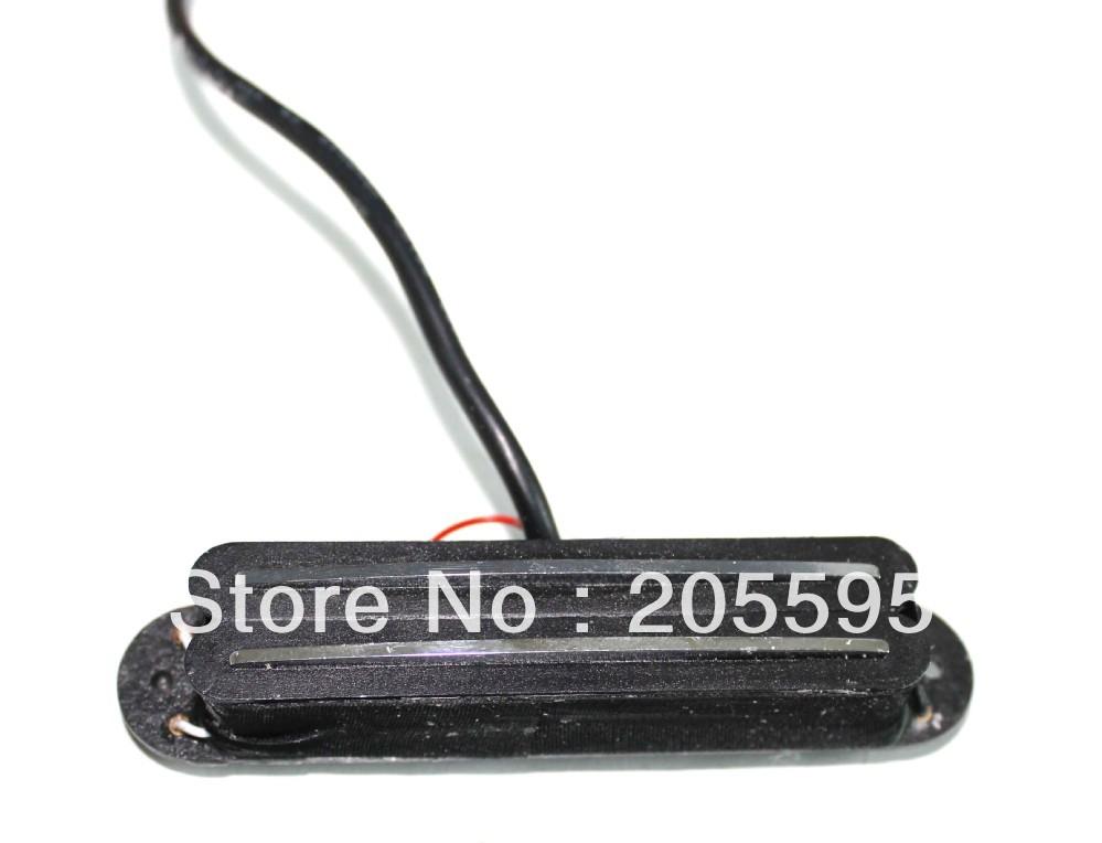 1pcs Belcat Alnico V Hot Rail Blade Strat Pickup Black and superior(China (Mainland))