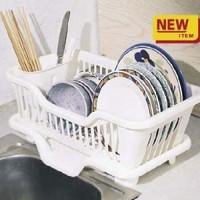 Book drip bowls storage home rack 3551 white kitchenware