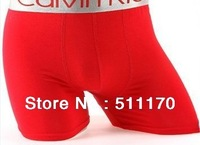 Free Shipping 2012 HOT Sale Modal 6Pcs/Lot 11colors High Quality Men's Boxers long style M L XL XXL