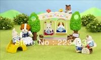 M'lele Novelty items   sylvanian families  tree  kindergarten school swing 1pc