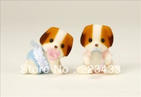 M'lele Novelty items  8pairs sylvanian families  baby the twins 2pcs