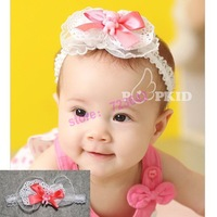 free shipping Baby Lace Headband Headwear,Girls Topknot Hair Accessories,Infant Hair Band