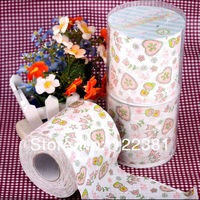 toilet roll paper dollar print paper tissue napkin 6pcs/lot free shipping by China post