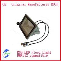 150W 100W  50W  30W 20W 10W  DMX512 RGB LED Flood light  working synchronously  by one DMX512 controller