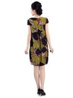 2013 quinquagenarian one-piece dress summer beach dress fancy loose medium-long plus size one-piece dress