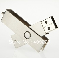 Free EMS/DHL 30pcs/lot Metal stainless steel Logo Engraved  USB Flash Drives memory Disk 1GB 2GB 4GB 8GB 16GB Custom thumbdrive