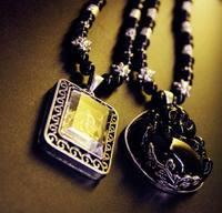 36408 statues lanyards necklace male Women enamel buckle beads
