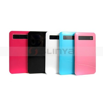 Portable colorful power pack rechargeable battery for iPhone ipad ipod samsung mobile phones