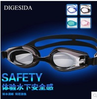 myopic swimming goggles water and fog resistant unisex