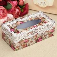 New latest Rectangle tissue box tissue iron  box free shipping 21*11.5*7cm