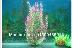 24-26inch long size aquarium fish tank decoration imitation plastic plants(China (Mainland))