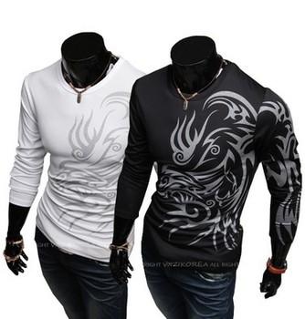 arrogant Wolf Tattoo metrosexual essential slim t-shirt Free shipping Brand poloshirt cotton t shirt for men tshirt