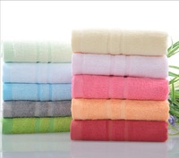 Free shipping,Hot sale 4pcs/lot 76X34cm Bamboo Towel, Bamboo fiber, Natural & Eco-friendly, Solid color, Nice soft 0430-9