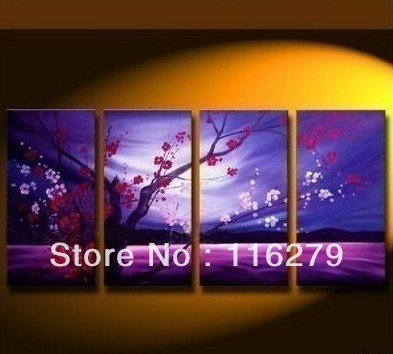 Large Modern Abstract Art Oil Painting Wall Decor canvas frame free shipping(China (Mainland))