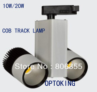10PCS 20W LED COB TRACK LAMP ,100% MANUFACTURING , FREE SHIPPING