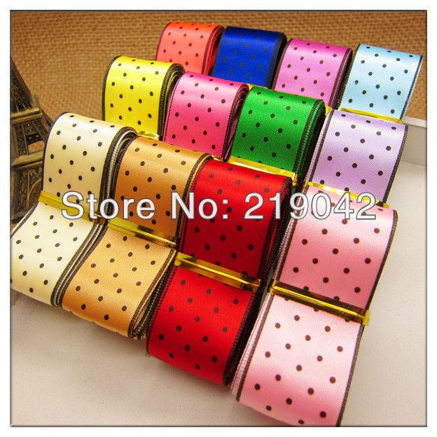 DIY hair ornament 12 YDS Mixed 12 style grosgrain ribbon cartoon ribbons Lot Free shipping,(China (Mainland))