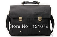 Mens Genuine Real Leather Antique Style Briefcases Business Cases Attache 16' laptop Bags Tote New 3820