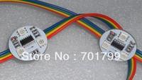 WS2801IC LED Pixel module;DC12V,waterproof, 30mm diameter;3pcs 5050 SMD RGB;20pcs a string