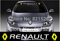 Windshield Decoration Racing decal sticker Emblem Renault Megane Scenic Fluence
