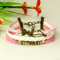 handmade engraved dream hot sale bracelets 2013 free shipping