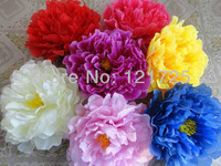 17cm big Peony flowers head artificial silk flowers