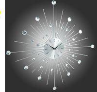 Free Shipping silent movement rustic wall clocks fashion clock fashion wall clock modern design