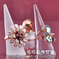 Free Shipping(min order 10$)Ring display holder arcylic ring display rack jewerly props