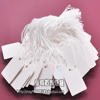 Free Shipping high quality Blank cotton label tag jewelry price tag accessories card price tag 500 PCS
